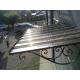Pensilina Tettoia Tenda copertura design arredo casa in acciaio verniciato