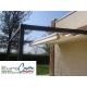 tettoia pergola in legno o altro materiale per esterno